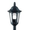 Elstead Parish Mini PRM5 Black Pillar Lantern